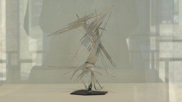 20170917_Norbert_Kricke,_Galerie_Utermann_2578